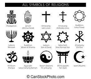 symbols of religions.eps