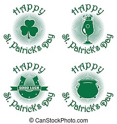 Symbols set for St. Patricks Day