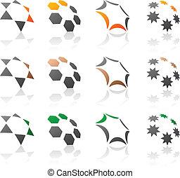 symbols., társaság, állhatatos