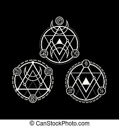 Symbols Triangle Line