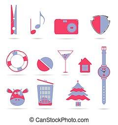 symbols vector illustration