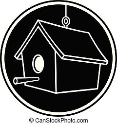 symbool, birdhouse