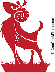 symbool, ram, zodiac/horoscope