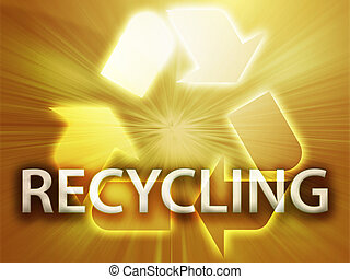 symbool, recycling