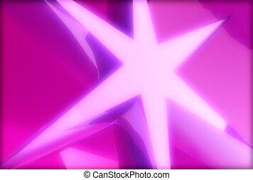 symbool, roze, geometrisch