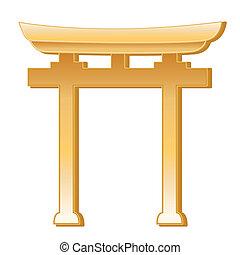 symbool, shinto
