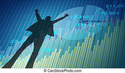 symbool, succes, financieel