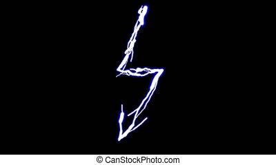 symbool, van, energie