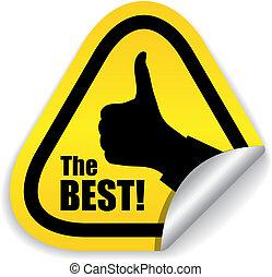 symbool, vector, best, keuze