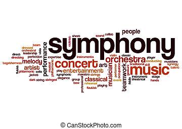 symfonie, vzkaz, mračno
