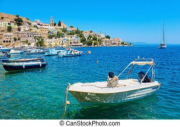 Symi Island. Greece