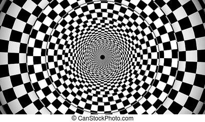 """""""symmetrical, fantasy"""", optyczny, spirala, skutek"""