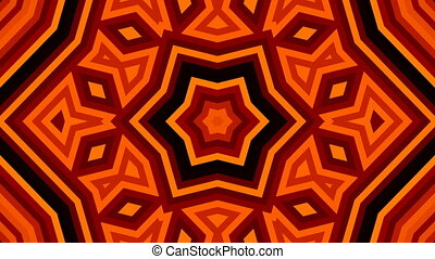 Symmetrical kaleidoscope - fractal 3d render backdrop,...