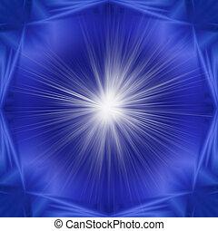 symmetrisch, abstraktion, von, balken, von, lichter