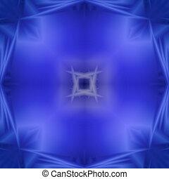symmetrisch, abstraktion, von, lichter