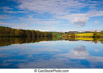 Symmetry in the summer landscape