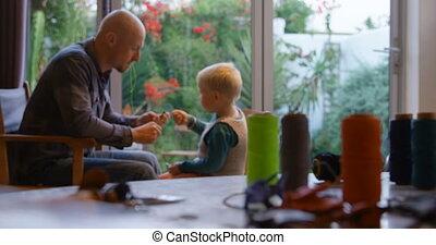 syn, 4k, stitching, ojciec, dom, keychain