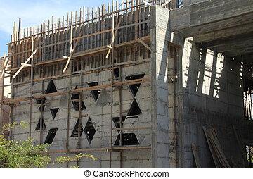 Synagogue construction