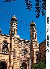 Synagogue in Budapest, Hungary