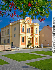 Synagogue in Town of Krizevci, Prigorje region, Croatia