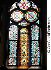 Synagogue Stained Glass