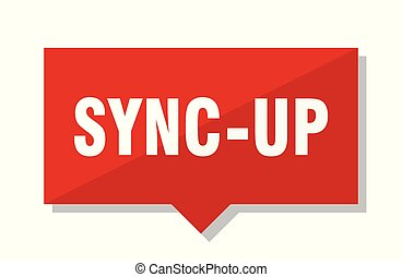sync-up red square price tag