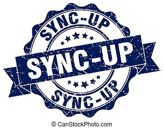 sync-up, stamp., segno., sigillo