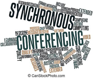 synchronous, conferencing