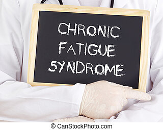 syndrome, docteur, information:, chronique, fatigue,...