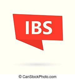 syndrome), (inflammatory, speach, ibs, bulle, intestin