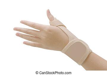 syndrome, tunnel, soutien, carpien, accolade poignet