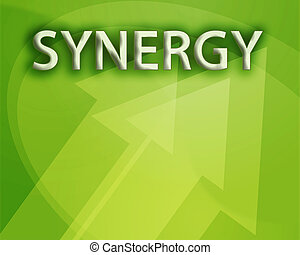 synergie, illustration