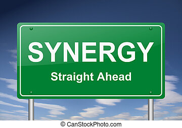 synergie, signe