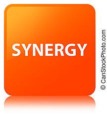 Synergy orange square button