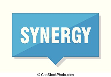 synergy price tag - synergy blue square price tag