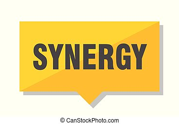 synergy price tag - synergy yellow square price tag
