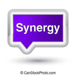 Synergy prime purple banner button