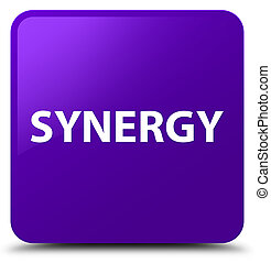 Synergy purple square button