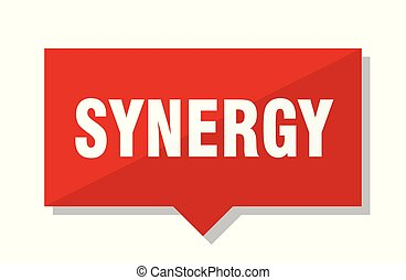 synergy red tag - synergy red square price tag