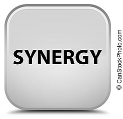 Synergy special white square button