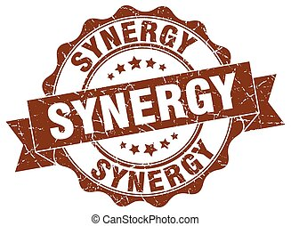 synergy stamp. sign. seal