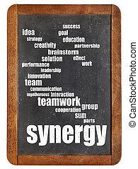 synergy, tabule, vzkaz, mračno