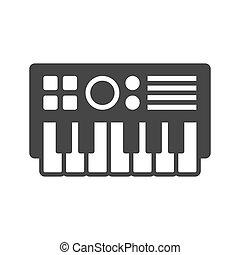 synthesize, ベクトル, icon.