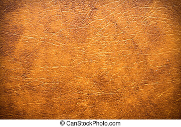 Synthetic leather - Synthetic brown leather for background