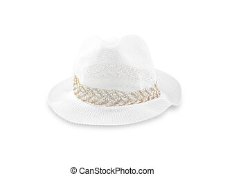 Hat isolated on white background.