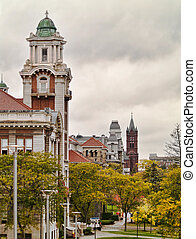 syracuse university hill - view of university ave in...