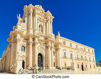 Syracuse's Duomo at Sicily - Beautiful Syracuse's Duomo....
