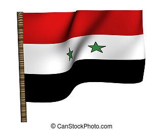 Syria. National Flag