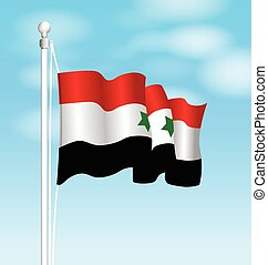 syria national flag