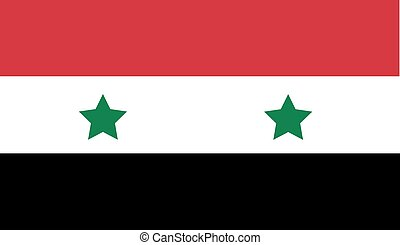 syrien, nationales kennzeichen